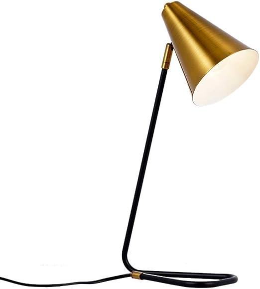 JXXU Lámpara de Mesa Vintage Lámparas de mesilla de Noche, lámpara ...