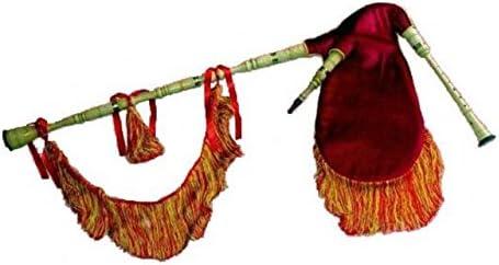 GAITA GALLEGA - Represas (Madera Fresno) Do (Completa) Funda Muelle Roja: Amazon.es: Instrumentos musicales