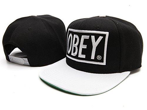 Obey Gorra de béisbol gorra ajustable sombrero marca nueva Major League