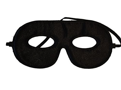 10 Abracadabrazoo Superhero Black Satin Masks (Spiderman Reversible Costume)