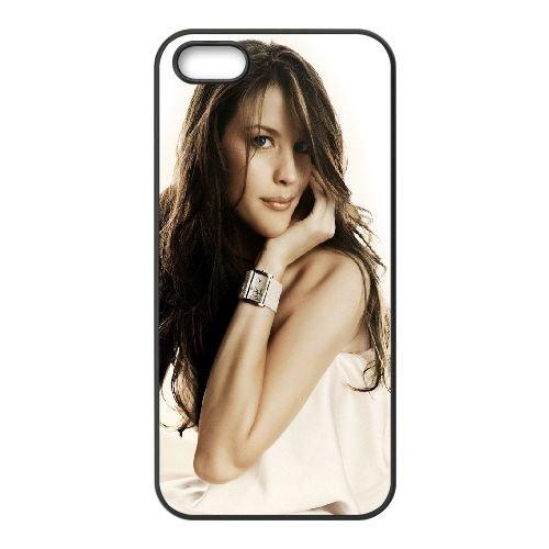 Liv Tyler Brunette Dress Feminine Image 38365 coque iPhone 5 5S cellulaire cas coque de téléphone cas téléphone cellulaire noir couvercle EOKXLLNCD25603