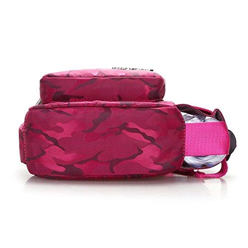 Rose Versatile Bag Bottle Shoulder Women Cuddty Red Water Crossbody Chest Bag with Holder qzPnTta
