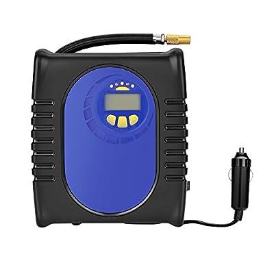 Digital Tire Inflator, GRANDTAU Premium Electric 12v DC Portable Auto Air Compressor, Pump to 150 Psi