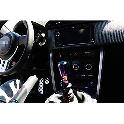 iJDMTOY JDM Neo Chrome Manual or Automatic Shift Knob, Universal Fit, Compatible with Chevrolet Honda Acura Mazda Mitsubishi Nissan Infiniti Lexus Toyota Scion, etc: Automotive