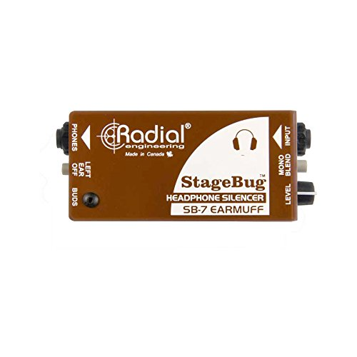 Radial Stagebug SB-7 Earmuff Headphone Silencer (Earmuffs Liquid)