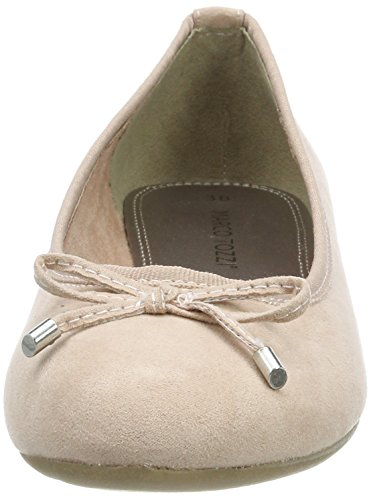 Women's Flats Ballet Marco Toe Pink Rose Closed 22135 521 Tozzi Px66qEY