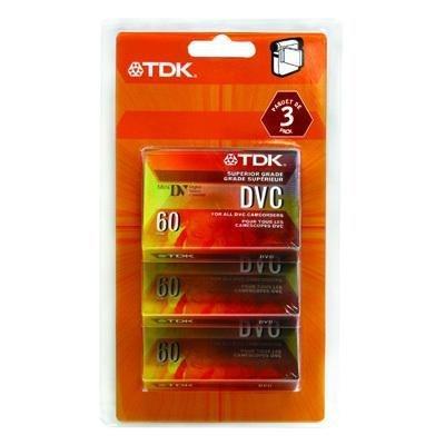 New-DVC Camcorder tape 3 PK - DVM60MEC3 from TDK