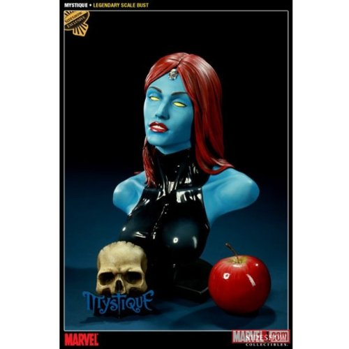 Mystique Marvel Sideshow Collectibles Legendary Scale Exclusive Bust