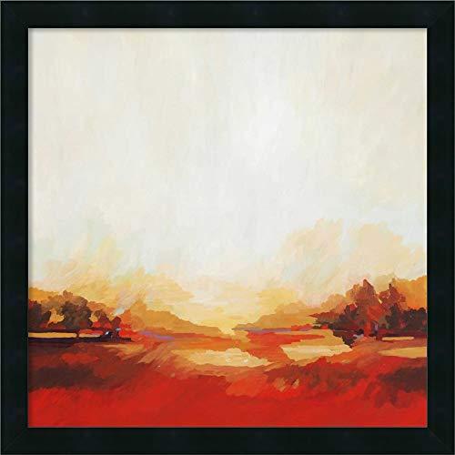 Framed Equinox (Canvas Art Framed 'Equinox' by Sarah Davies)