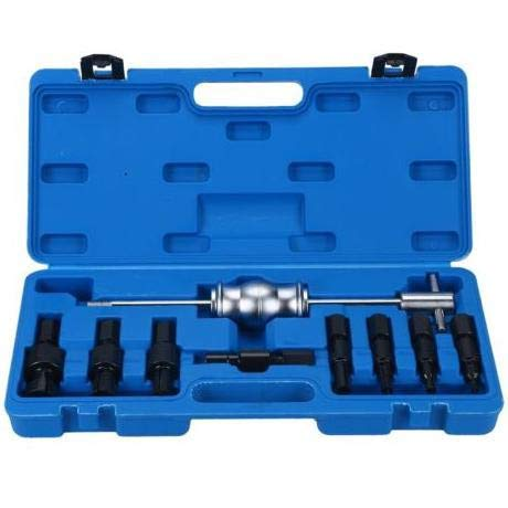TOOLS GOO HOLD HIGH Inner Bearing Puller Set Remover Slide Hammer Internal Kit 8-32mm 9pc Blind Hole