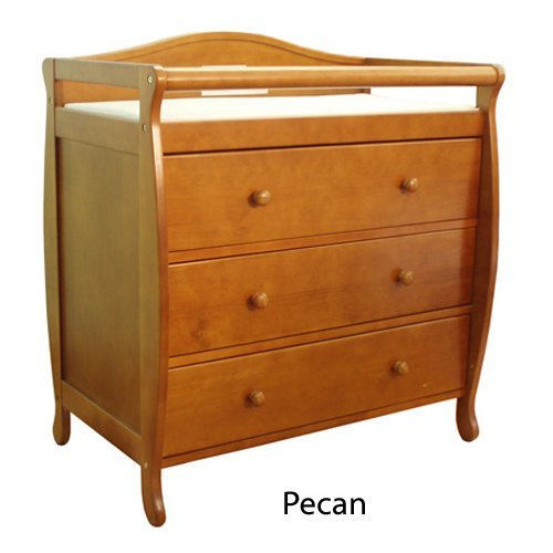 AFG Grace Changing Table - Pecan by AFG Furniture