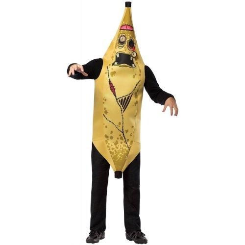 Adult Zombie Banana Costumes (Rasta Imposta Zombie Banana, Yellow, Standard)