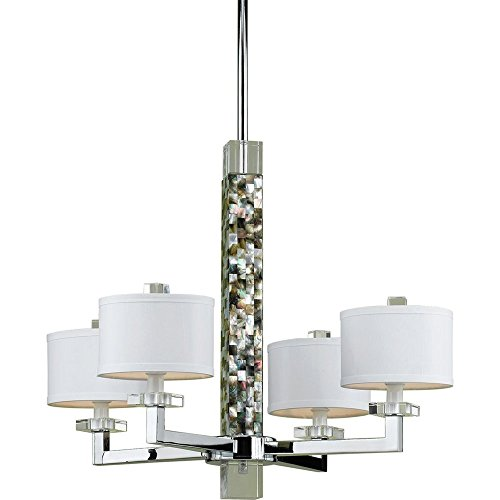 AF Lighting 7454 4-Light Chandelier Candice Olson Chandelier Light