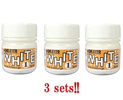 Deleter Ink White 1 (3sets) for Manga/Comic drawing From Japan