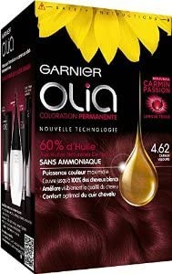 Garnier Olia 4.62 Cachemira Rojo Permanente pelo Color Sin amoniaco Set