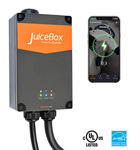 JuiceBox Pro 32 Smart Electric Vehicle (EV) Charging Station with WiFi - 32 amp Level 2 EVSE, 24-Foot Cable, NEMA 14-50 Plug, UL and Energy Star Certified, Indoor/Outdoor Use (Plug-in Installation) by JuiceBox (Image #5)