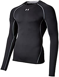Men's HeatGear Armour Long Sleeve Compression Shirt