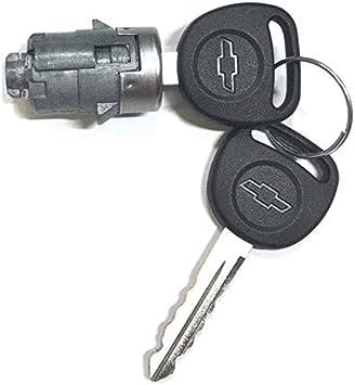 Amazon Com New Chevy Oem Single Door Lock Cylinder W 2 Oem Bowtie Logo Keys 706592 598007 Automotive