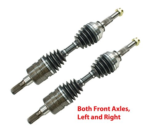 DTA DT1610961091 2 New Front CV Axles Fit Trailblazer, Envoy, Rainier, 4WD/AWD - Shaft Xl Axle