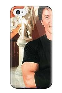 New Premium Flip Case Cover Sylvester Stallone Skin Case For Iphone 4/4s