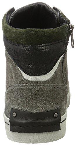 Sneaker Grigio Alto 11006a17b Crime Uomo Collo London grau A awOqOx1En0