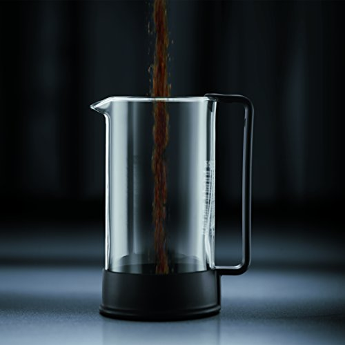 Bodum 1548-01US Brazil French Press Coffee and Tea Maker 34 Ounce Black by Bodum (Image #2)