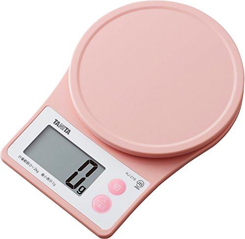 Tanita 타니타 저울질 스케일 요리 2kg 1g 핑크 KJ-216 PK / 블루 KJ-216 BL / 화이트 KJ-216 WH