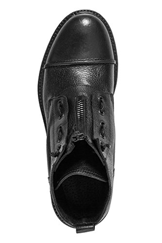 Antony Morato Herren Stivaletto Allacciato Combat Boots Schwarz (nero)