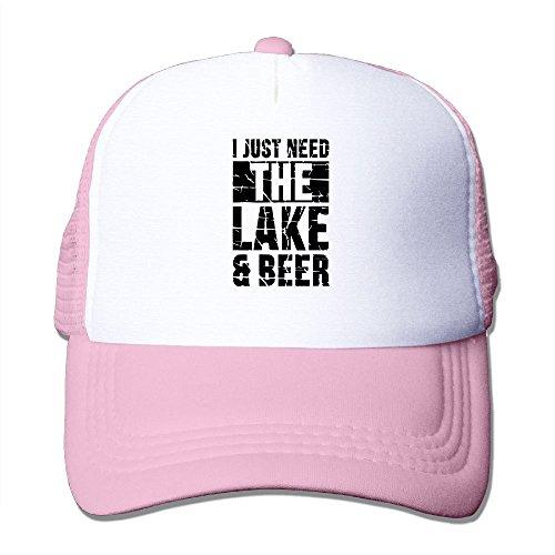 RUN_RUNNING& I Just Need The Lake and Beer Mens Adjustable Mesh Hunting Cap Hat at Amazon Mens Clothing store:
