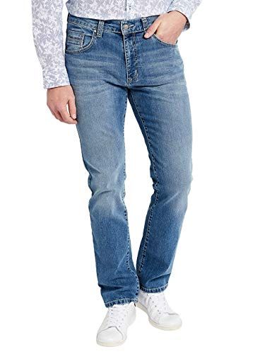 Pioneer Uomo Used Jeans stone Straight Rando Blu Buffies With 349 PrgwqPx