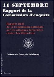 11 septembre rapport de la Commission d'enquête : Rapport final de la Commission nationale sur les attaques terroristes contre les Etats-Unis