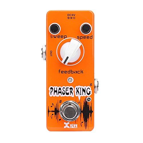 XVive V6 Phaser King Guitar Effects Pedal