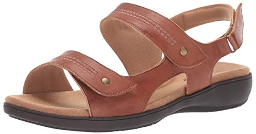 Trotters Women's Venice Sandal Luggage 8.5 N US