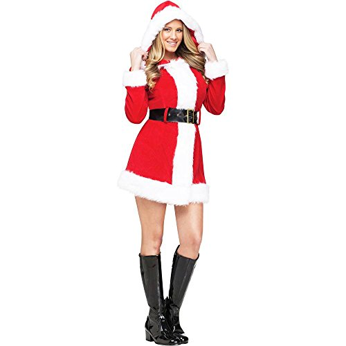 Merry Ms Santa Costume Medium