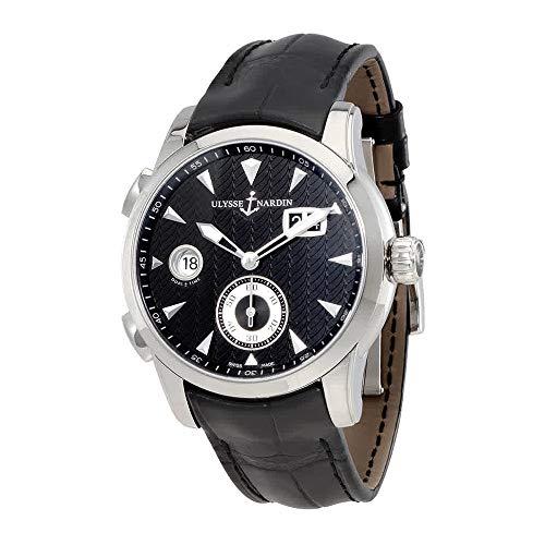 Ulysse Nardin Dual Time Automatic Black Dial Men's Watch 3343-126-912