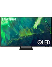 $947 » SAMSUNG 55-inch Class Q70A Series – QLED 4K UHD Smart TV with Alexa Built-in (QN55Q70AAFXZA, 2021 Model)