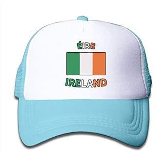 Bandera de Irlanda-1 en el sombrero del camionero de los niños ...