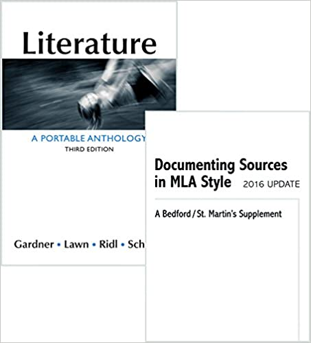 literature a portable anthology 3rd edition free download