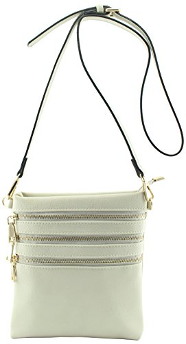 Amy with 4 functional weight pockets crossbody amp;Joey cross body strap bags Beige removable light UgwrzUnF5q