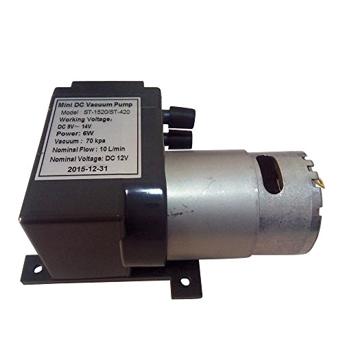 Used, 12 Volt Mini DC Vacuum Pump For Vacuum Heating Press for sale  Delivered anywhere in USA