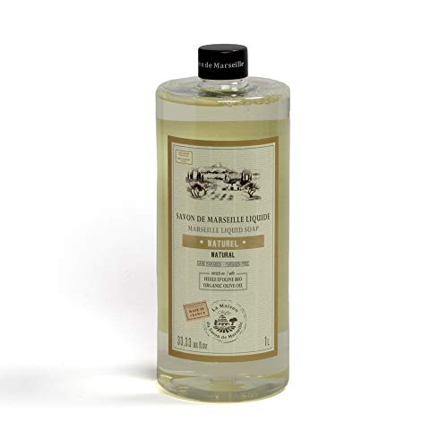 (Marseille Liquid Soap 1L value pack (Natural Olive Oil))