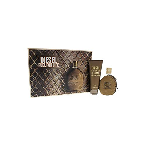 Diesel Fuel For Life By Diesel For Men - 2 Pc Gift Set 1.7oz Edt Spray, 3.38oz Shower Gel 2 Pc Gift Set ()
