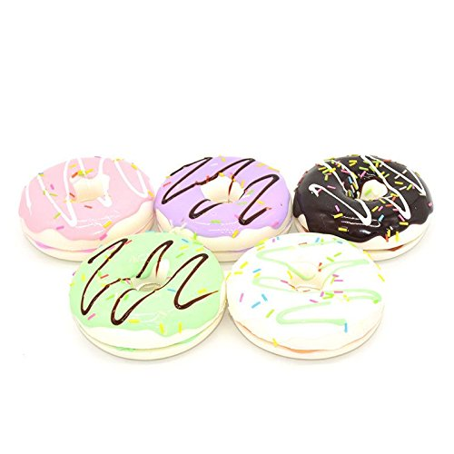 8.5CM Charming Chocolate Donuts Cream Scented Simulation