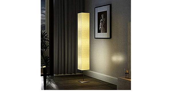 FAMIROSA 60262 - Lámpara de pie con soporte de acero, 170 cm, color beige: Amazon.es: Hogar