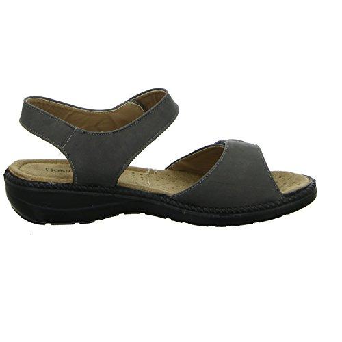 ... Donna Andrea XB021 Damen Komfort Sandalette Grau (Grau) ... 60af64f905