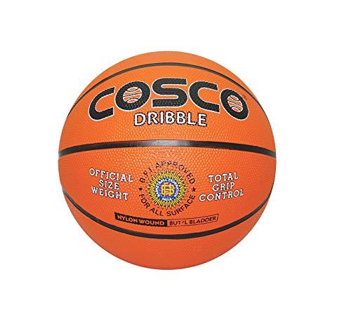 Cosco Basketball Dribble   Size 6, Orange