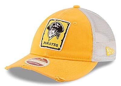 "Pittsburgh Pirates New Era MLB 9Twenty Cooperstown ""Frayed Twill"" Mesh Back Hat"