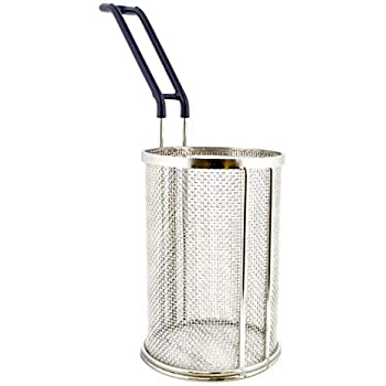 26 cm 01 Piece - V2 COM-FOUR/® Potato Squeezer Made of Stainless Steel with Removable Sieve Insert