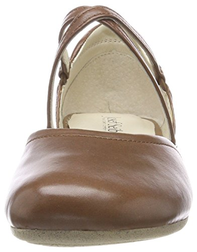 Strap Ankle UK Fiona Seibel Nuss Josef Ballet Women's Brown 41 340 4 Flats Black IvwpXxxq1