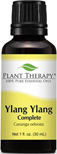 Plant Therapy Ylang Ylang Complete Essential Oil. 100% Pure, Undiluted, Therapeutic Grade. 30 ml (1 oz).